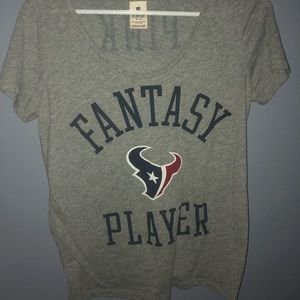 Houston Texans NFL tee shirt Victoria's Secret